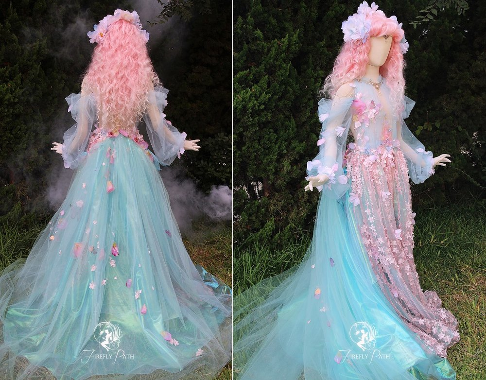 Princess of Petal Falls Gown
