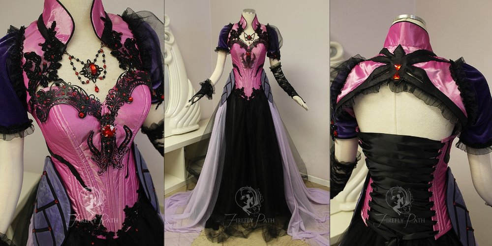 Widowmaker Masquerade Gown