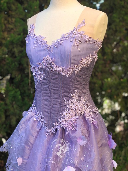 Lavender Fairy Gown