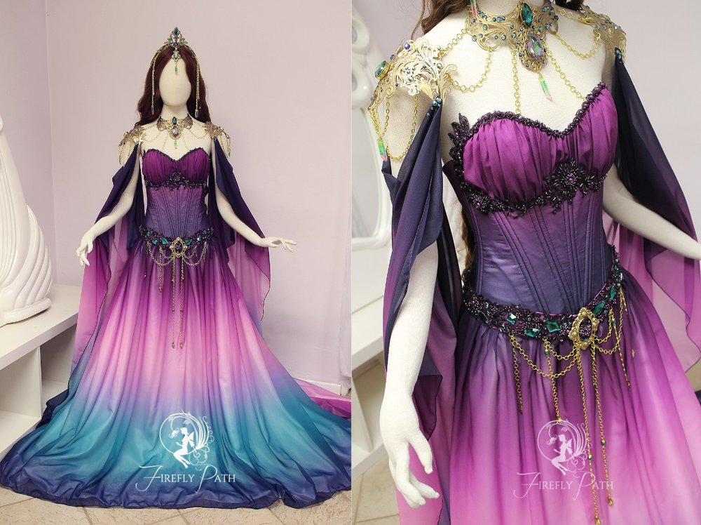 Twilight Lily Gown
