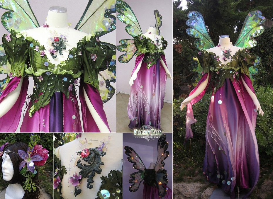 Spring Faerie Gown