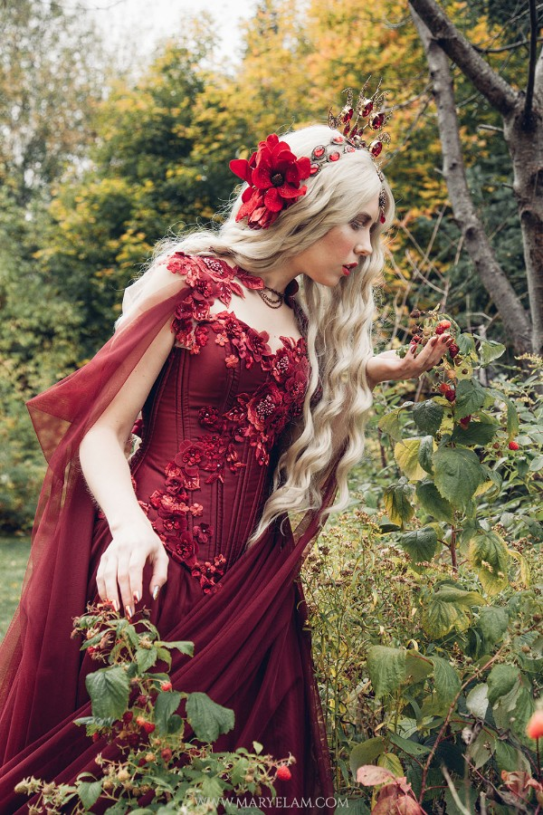 Ruby Rose Gown