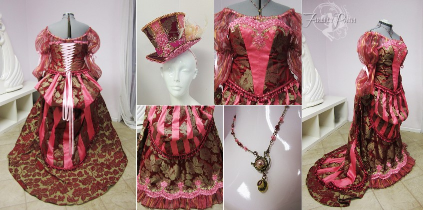 Rose Carnival Gown
