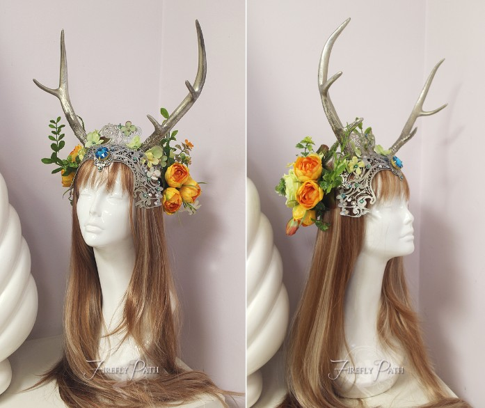 Summer Solstice Headdress