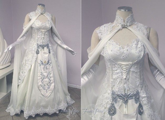 Princess Zelda Bridal Gown