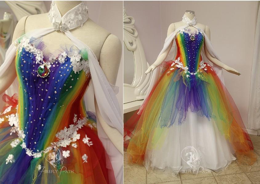 Rainbow Gown