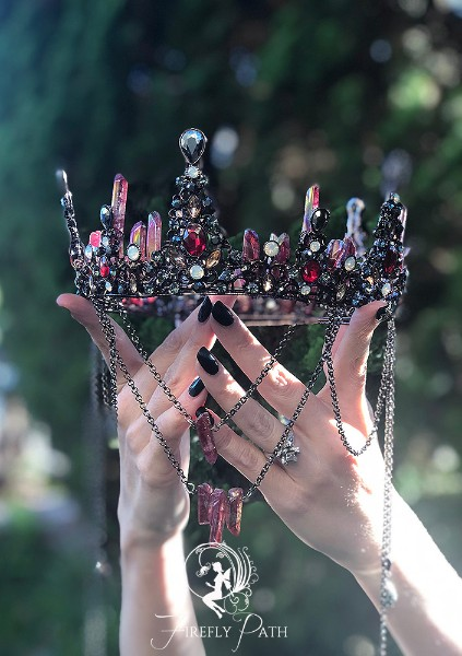 Blood Crystal Crown