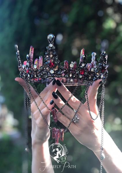 Blood Crystal Crown
