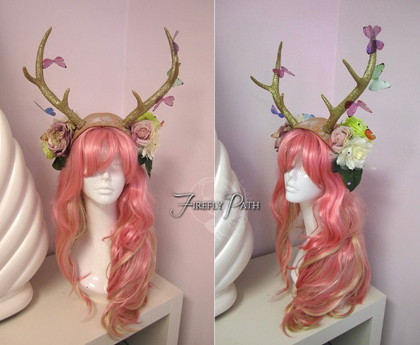 Butterfly Fawn Headdress