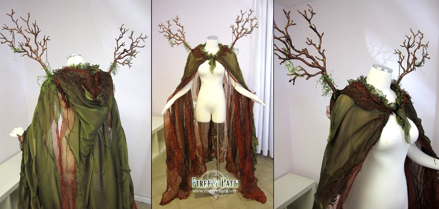 Forest Cape & Branch Wings