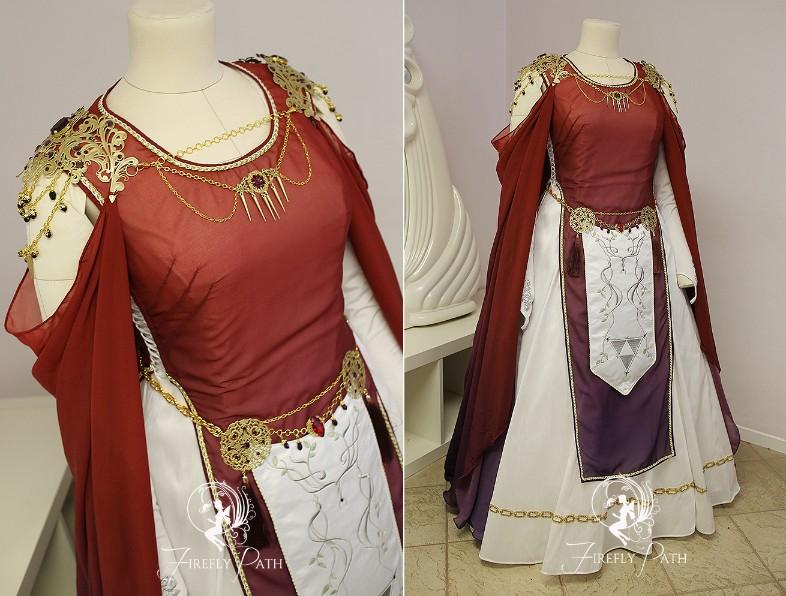 Hilda Inspired Bridal Gown