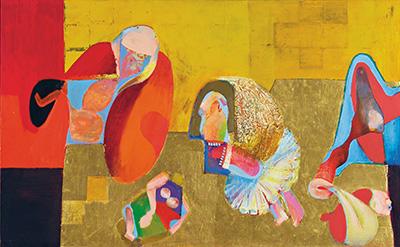 Familiebillede (opstilling med reaktionære elementer), 1969