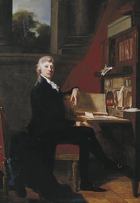 Jean Laurent Mosnier: Storkøbmand Constantin Brun, 1800