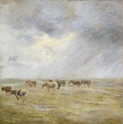 Theodor Philipsen: En byge. 1890