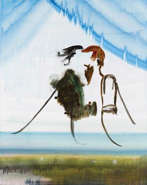John Kørner: Uden titel. Olie på lærred, 2007
