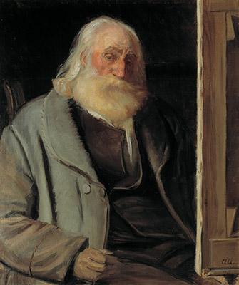 Anna Ancher: Vilhelm Kyhn (1903)