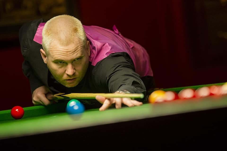 Adrian Ridley - Men's Snooker
