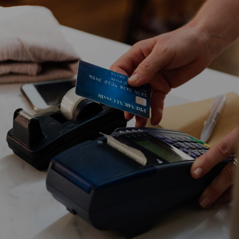 We Accept All Credit Cards -