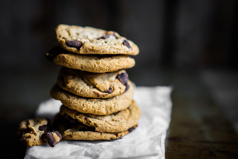 Chocolate chip cookies on rustic background (2).jpg