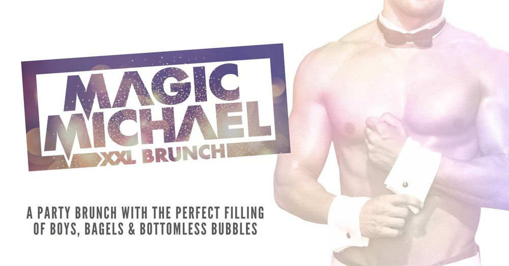 241 tickets for our brand new 'Magic Mike' inspired brunch. Only 2 dates; 1st and 15th Dec. Very limited tickets