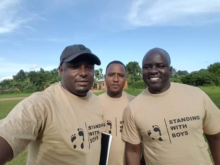 Joseph Kalyango, Uganda / SwB Mentor / James Ouma, Kenya