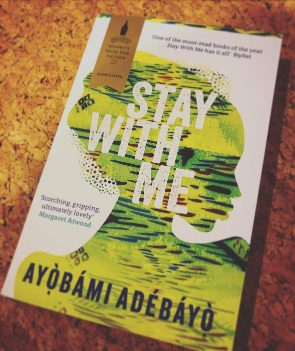 STAY WITH ME: AYOBAMI ADEBAYO