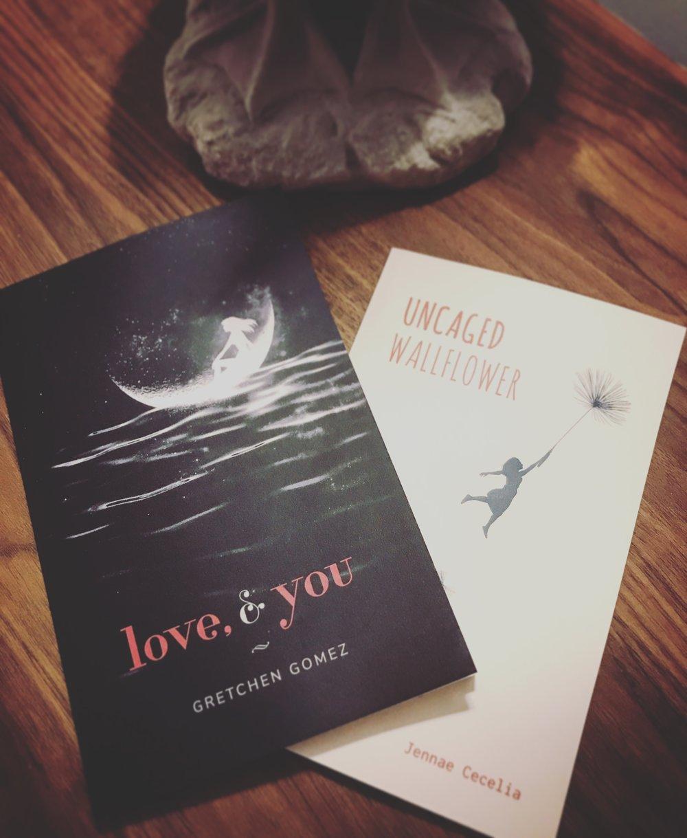 LOVE & YOU: GRETCHEN GOMEX / UNCAGED WALLFLOWER: JENNAE CECILIA