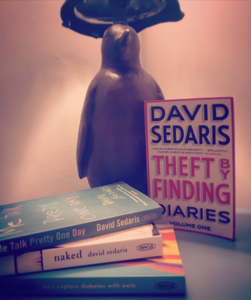 THEFT BY FINDING DIARIES / ME TALK PRETTY ONE DAY / NAKED / LET'S EXPLORE DIABETES WITH OWLS: DAVID SEDARIS