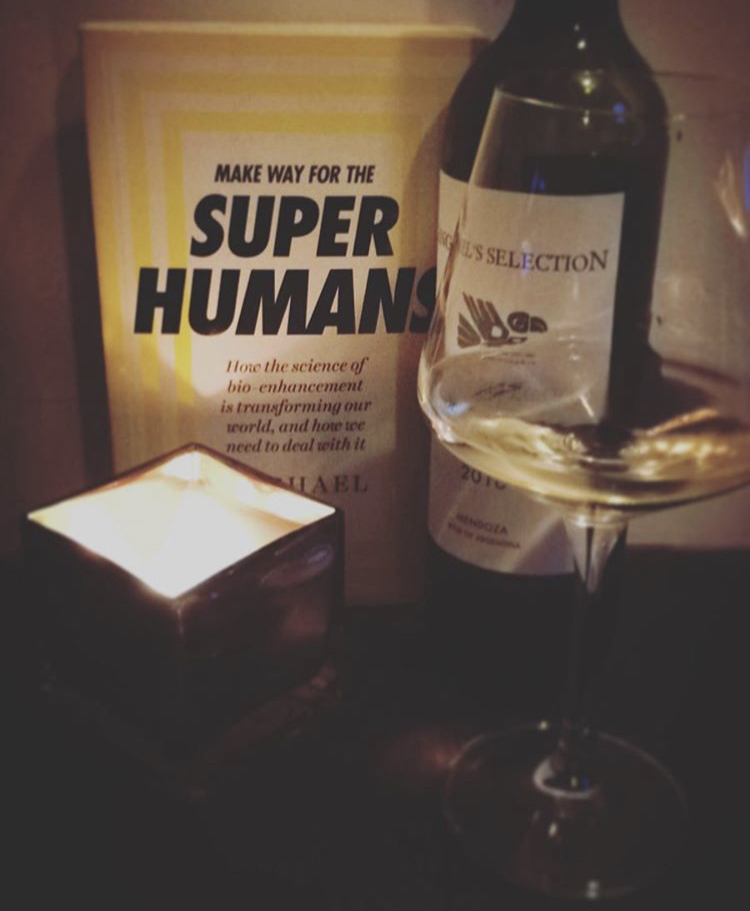 MAKE WAY FOR THE SUPER HUMANS: MICHAEL BESS