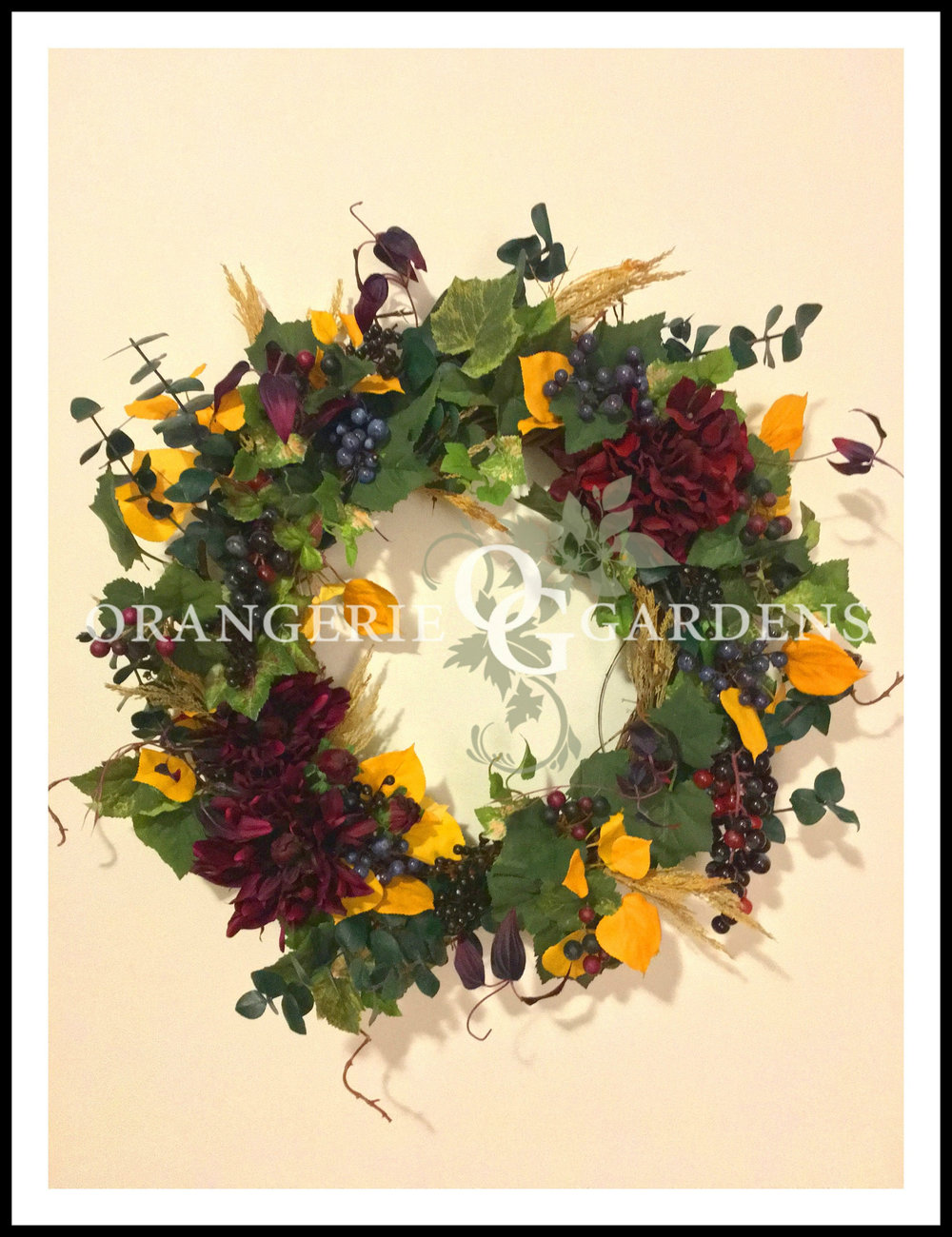 Cornwall Valley Harvest Wreath