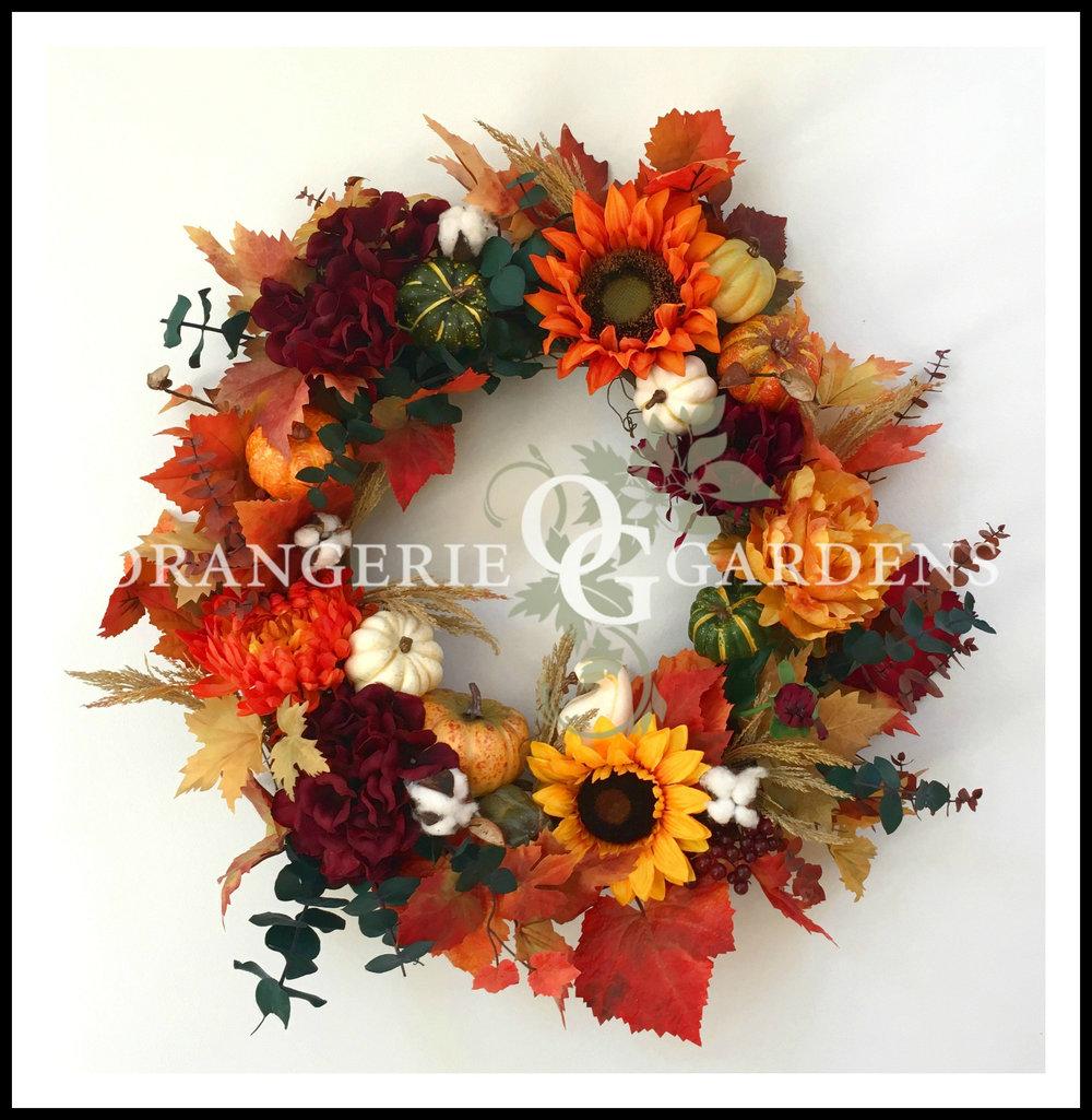 Harlington Manor Thanksgiving Wreath