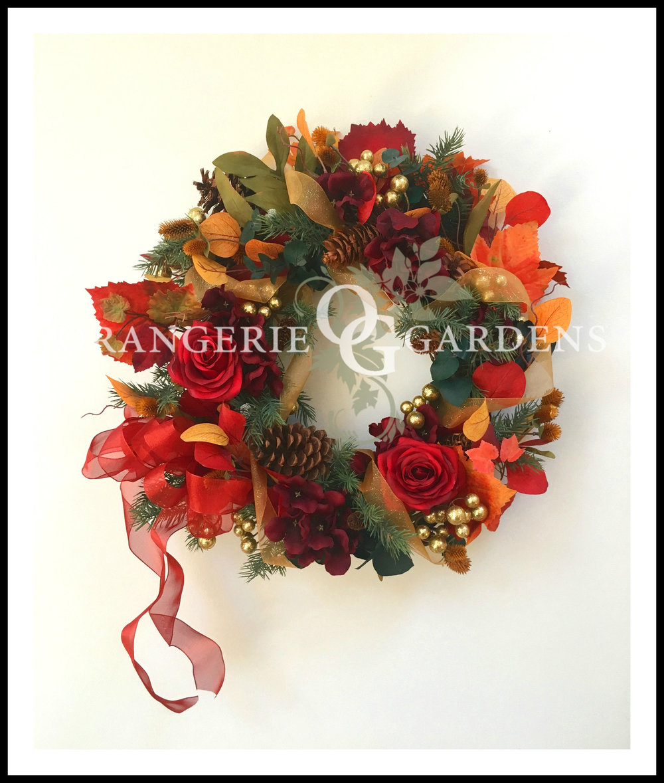 Woodland Manor Holiday Wreath