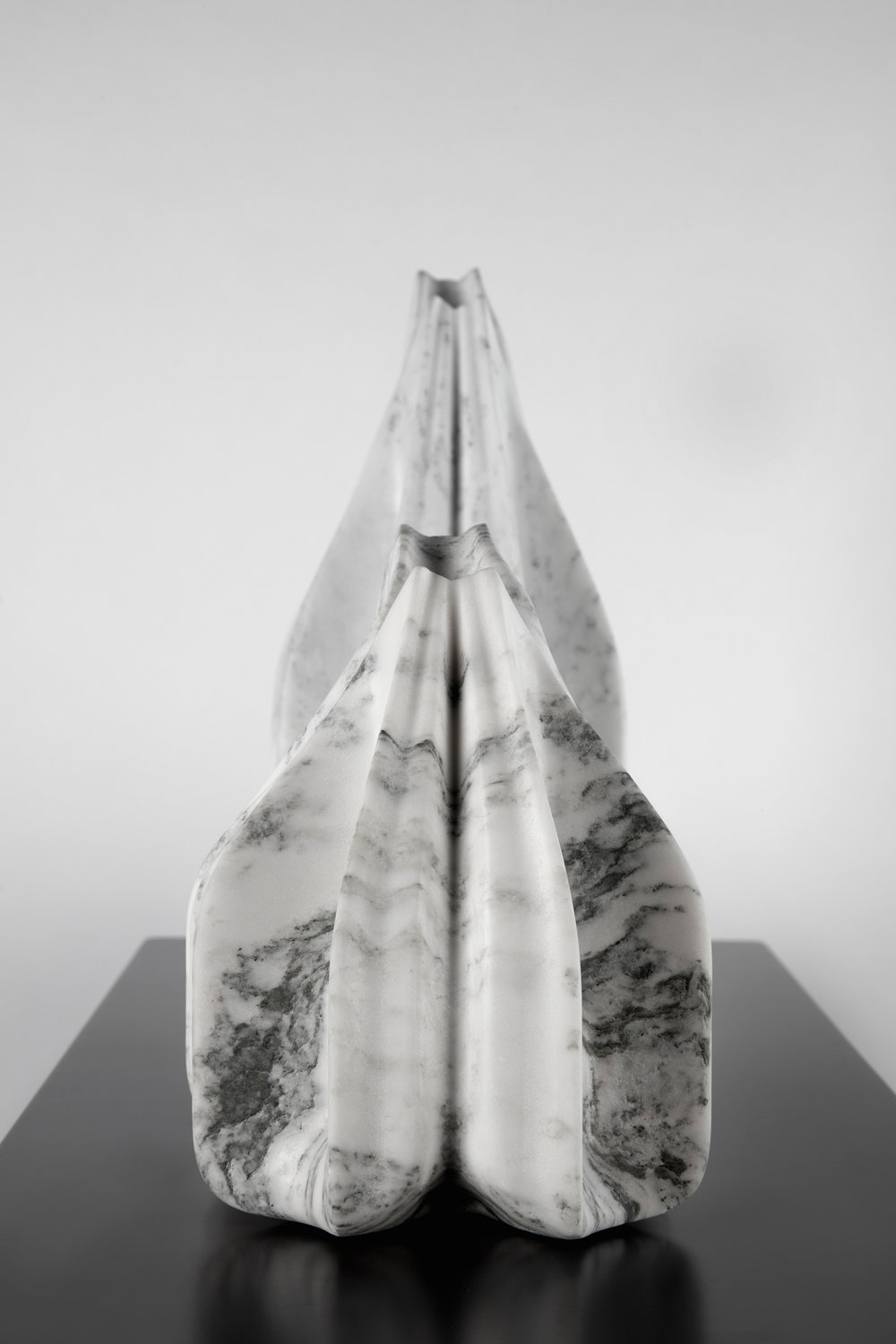 Ripple Vases - Robotically Fabricated Marble Vases