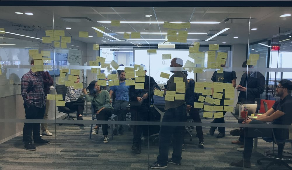 During a brainstorming session, we used Affinity Mapping to categorize the ideas of Designcraft's principles.
