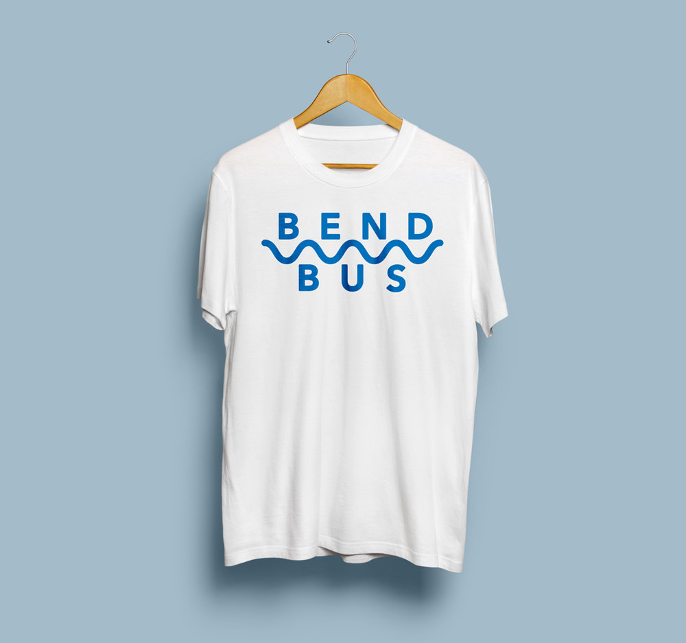 Bend Bus Simple Shirt