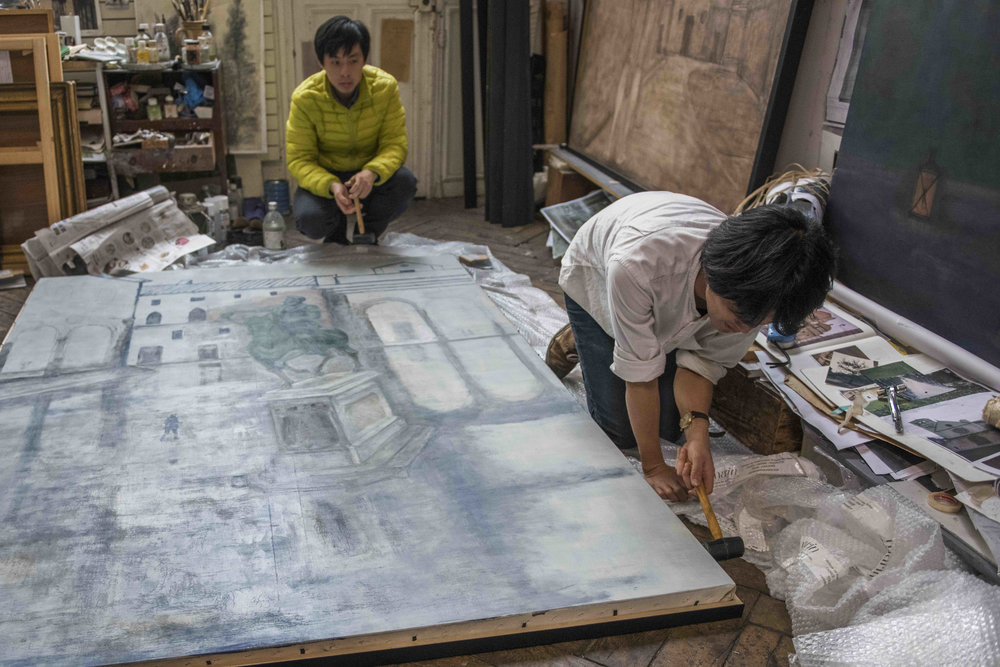 Jimmy Beunardeau - Pr Chen - Peintre taïwanais - reportage (1).jpg