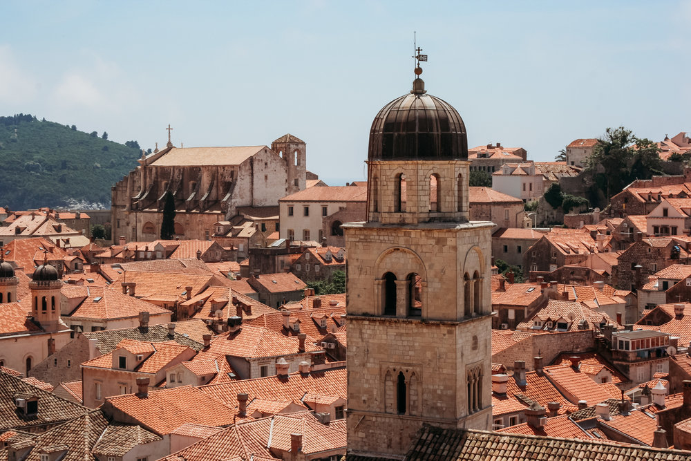 Rooftops in the center of Croatia: shot in manual mode at: ISO400, f16, 1/400sec (46mm)