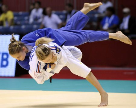 Olympic style Judo - A Japanese martial art and an Olympic sport that consist of throws and grappling techniques. With Judo, one can learn how to use strength, skill and leverage with maximum efficiency.