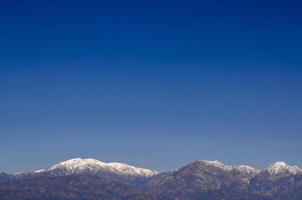 San Gabriel Mountain, CA