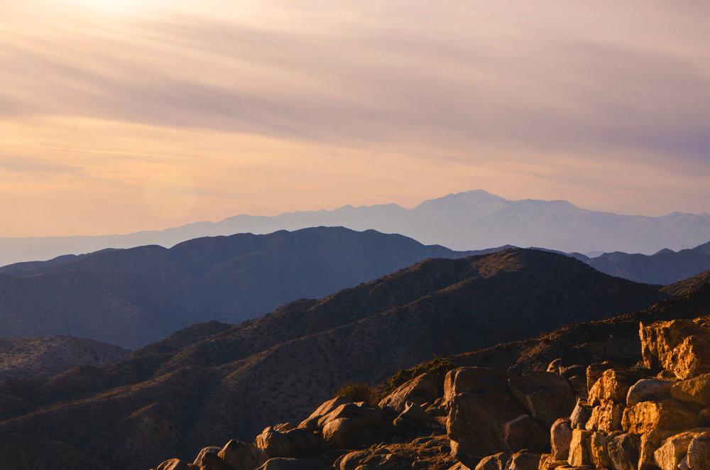 San Gorgonio Mountain (11,485 feet) is the tallest point in Southern California.