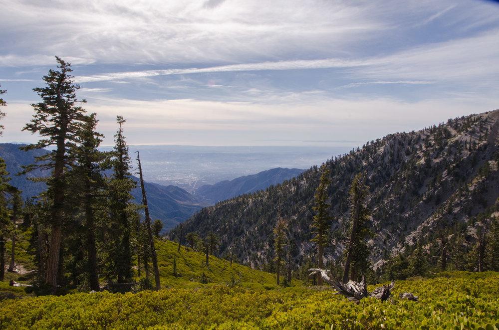 Mount Baldy & San Bernardino Valley, California