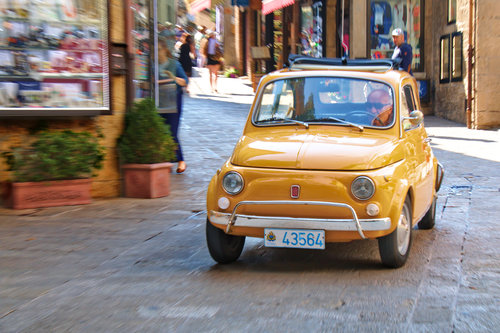 Carefree urban chic: the Fiat 500