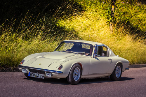 Quick, agile and fun to drive: the Lotus Elan +2