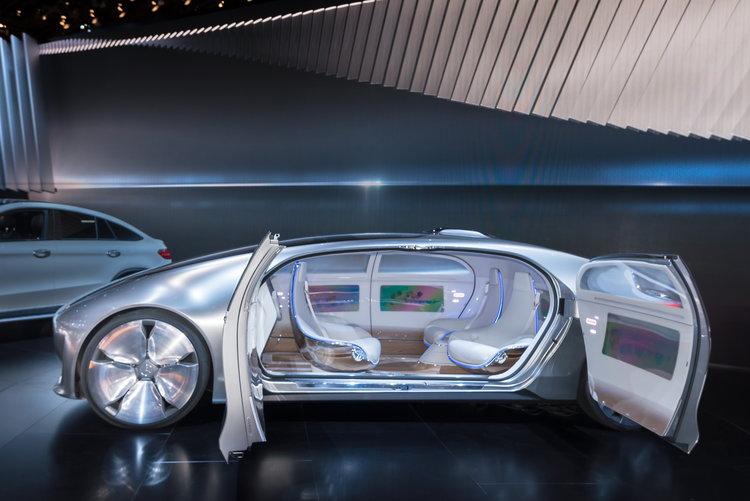 Mercedes F 015 Autonomous Concept Car