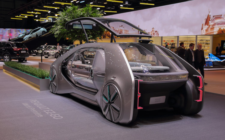 Mobility Vehicle: the Renault EZ-GO concept