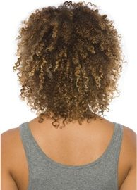 true salon keratin natural curl after