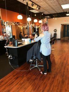 wet brush — trUe salon and color café — trUe salon and color