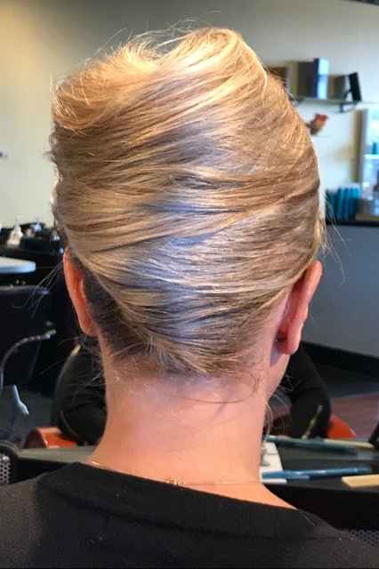 The Retro 'Do:  Who doesn't love a killer updo reminiscent of 60's Hollywood? A classic beehive is timeless and stunning, for the girl who wants to make a vintage style into a modern wonder for the evening.