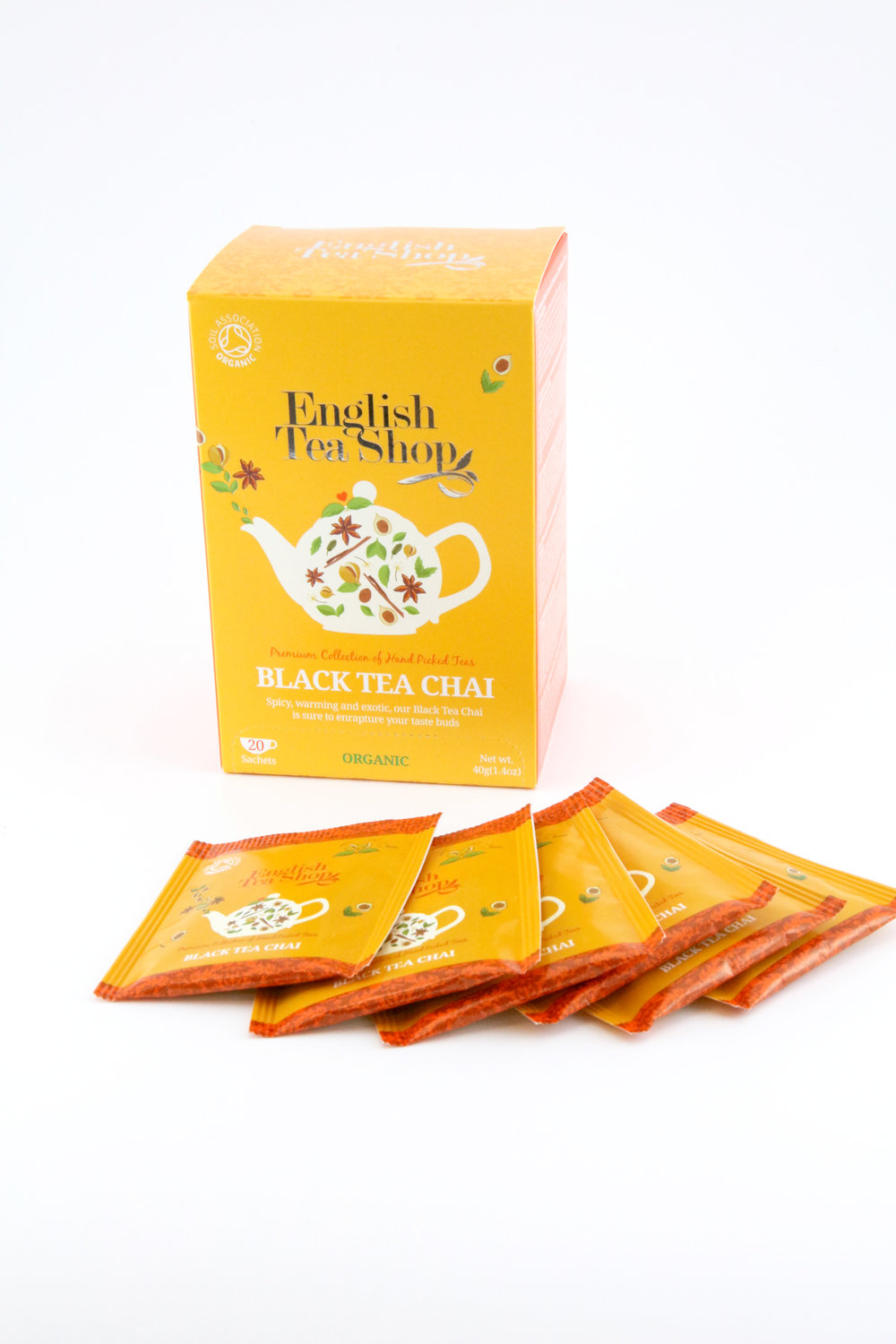 Therapeutic Item: English Tea Shop Tea   We know how important tea is. And we know how important it is to go right to the source. That's why we founded English Tea Shop, to bring you superb tea from the heart of Sri Lanka. Our tea is hand packed. We care deeply about the way our tea is grown and harvested.  CHAMOMILE LAVENDER   BLACK TEA CHAI