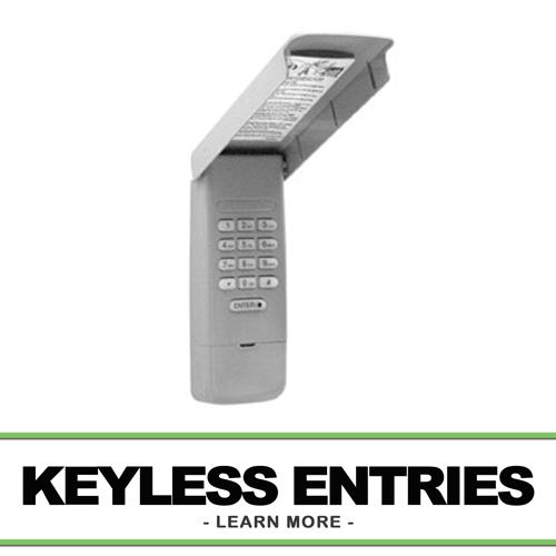 Garage Door Keyless Entries